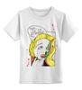 """Детская футболка классическая унисекс """"Cartoon zombie"""" - приколы, comics, зомби"""