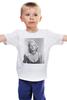 """Детская футболка классическая унисекс """"Marilyn Monroe  """" - ретро, ню, мэрилин монро, marilyn monroe, kinoart"""