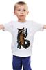"""Детская футболка классическая унисекс """"Енот Marvel"""" - comics, комикс, супергерои, marvel, енот, реактивный енот, rocket raccoon"""