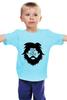 """Детская футболка классическая унисекс """"Борода"""" - борода, beard, mustache"""