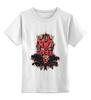 """Детская футболка классическая унисекс """"Дарт Мол"""" - star wars, звездные войны, дарт мол"""