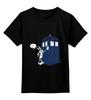 "Детская футболка классическая унисекс ""What's Up, Doc?"" - doctor who, tardis, доктор кто, тардис"