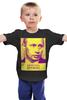 """Детская футболка """"Давайте жить Дружно"""" - путин, президент, putin, кремль, крым"""