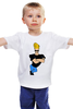 "Детская футболка ""Johnny Bravo"" - сериал, мульт, джонни браво, johny bravo"