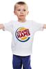 """Детская футболка """"Steamed Hams (the Simpsons)"""" - симпсоны, the simpsons, гамбургер, burger king"""