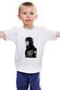 "Детская футболка классическая унисекс ""Justin Bieber"" - музыка, justin bieber, джастин бибер"
