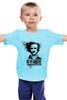 """Детская футболка классическая унисекс """"Команданте По"""" - граффити, стрит-арт, эдгар по, nevermore"""