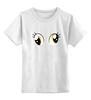 "Детская футболка классическая унисекс ""d3rpy eyes"" - pony, mlp, my little pony, derpy, derpy hooves, derpi"