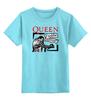 "Детская футболка классическая унисекс ""Freddie Mercury - Queen"" - queen, rock music, фредди меркьюри, freddie mercury, куин"