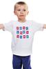 """Детская футболка классическая унисекс """"Postcrossing"""" - почта, postcrossing, посткроссинг, postcards, открытка, mail"""