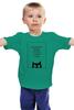 """Детская футболка классическая унисекс """"Don't trust"""" - кошки, цитаты"""