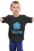 """Детская футболка классическая унисекс """"Fallout Vault-Tec"""" - fallout, vault-tec, vault, волт-тек, выпадение радиоактивных осадков"""