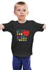 """Детская футболка """"Самый любимый"""" - сердца, 23 февраля, день защитника отечества, любимый"""