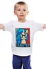 """Детская футболка """"Пони DUBSTEP"""" - арт, pony, дабстеп"""