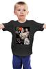 "Детская футболка классическая унисекс ""Obama vs Putin"" - russia, обама, путин, putin, obama"