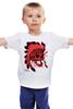 """Детская футболка классическая унисекс """"Skull"""" - skull, череп, рисунок, индеец, дикий запад"""
