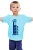 """Детская футболка классическая унисекс """"Тардис (Доктор Кто)"""" - doctor who, tardis, доктор кто, тардис"""