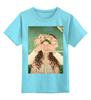 """Детская футболка классическая унисекс """"Я знаю это ты! Funny Smile"""" - любовь, арт, стиль, girl, рисунок, девушке, алина макарова"""