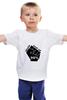 """Детская футболка классическая унисекс """"Never give up (Никогда не сдаваться)"""" - арт, never give up, никогда не сдаваться"""