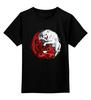 """Детская футболка классическая унисекс """"Волк и Дракон (Игра престолов)"""" - игра престолов, старки, game of thrones, таргариен, волк и дракон"""