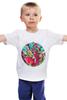 """Детская футболка классическая унисекс """"Розовый фламинго"""" - pink, фламинго, flamingo"""
