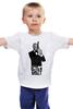 """Детская футболка классическая унисекс """"Владимир Путин"""" - putin, владимир путин, крым наш, русская империя"""