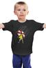 """Детская футболка """"Мертвецкий Дождь"""" - zombie, зомби, дождь, мертвецы, rain, umbrella, izombie"""