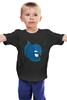 """Детская футболка классическая унисекс """"Batman x Superman"""" - batman, бэтмен"""