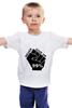 """Детская футболка классическая унисекс """"Never give up"""" - never give up, не сдавайся"""