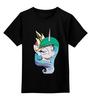 """Детская футболка классическая унисекс """"Princess Celestia"""" - арт, pony, mlp, magic"""