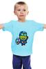 """Детская футболка классическая унисекс """"Captain America Minions """" - кэп, мстители, миньоны, капитан америка, captain america"""