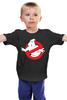 """Детская футболка классическая унисекс """"Охотники за привидениями (Ghostbusters)"""" - охотники за привидениями, привидение, ghostbusters, ghosts"""