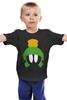 "Детская футболка классическая унисекс ""Марвин Марсианин (Багз Банни)"" - bugs bunny, багз банни, багс банни, марвин марсианин, marvin the martian"