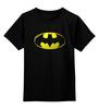 "Детская футболка классическая унисекс ""Бэтмен"" - комиксы, batman, бэтмен, марвел"