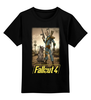 "Детская футболка классическая унисекс ""Fallout 4"" - games, fallout, bethesda, fallout 4"