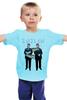 """Детская футболка """" Русский Webпанк 2"""" - ярусский, жириновский, почитать, вебпанк, webпанк"""