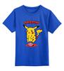 "Детская футболка классическая унисекс ""Zombiechu"" - zombie, зомби, покемон, пикачу, pikachu"