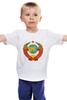"""Детская футболка """"Герб СССР"""" - ссср, ussr, россия, герб"""