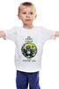 """Детская футболка классическая унисекс """"Raccoon gamer"""" - gamer, keep calm, енот, raccoon"""