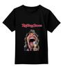 """Детская футболка классическая унисекс """"the rolling stones"""" - музыка, рок, рок-н-ролл, rolling stones, мик джаггер"""