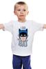 """Детская футболка """"I Am the Bat"""" - комиксы, batman, герой, бэтмен"""