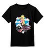"Детская футболка классическая унисекс ""Princess Peach (Mario)"" - sexy, bomb, принцесса пич, princess peach"