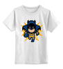 "Детская футболка классическая унисекс ""Бэтмен (8-бит)"" - batman, бэтмен, пиксели, 8-бит"