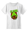 """Детская футболка классическая унисекс """"Лизун (Slimer)"""" - охотники за привидениями, лизун, slimer"""
