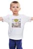 """Детская футболка классическая унисекс """"Green Day Dookie"""" - punk rock, green day, панк-рок"""