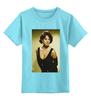 """Детская футболка классическая унисекс """"Monica Bellucci """" - девушки, ню, monica bellucci, моника беллучи, kinoart"""
