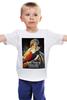 """Детская футболка классическая унисекс """"ретро постер"""" - ретро, плакат, постер, ретро кино, старое"""