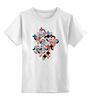 """Детская футболка классическая унисекс """"Виниловый Микс"""" - музыка, арт, абстракция, виниловый микс"""