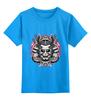 """Детская футболка классическая унисекс """"самурай"""" - самурай, samurai"""