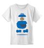 """Детская футболка классическая унисекс """"Печеньковое Чудовище"""" - печеньковое чудовище, cookie monster, бисквитный монстр, коржик"""